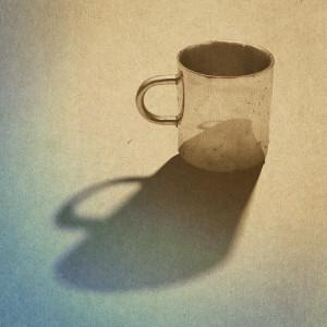vintage paper texture, vintage cup background